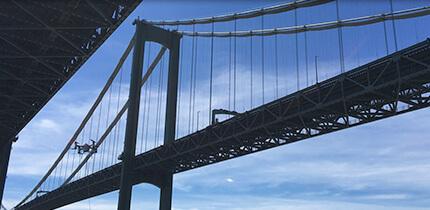 drone bridge inspection