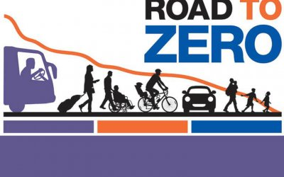 road to zero theme graphic