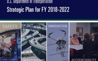 cover of the USDOT Strategic Plan 2018-2022