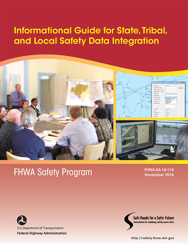 cover of informational guide for agency local safety data integration