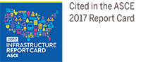 ASCE 2017 Infrastructure Report Card logo