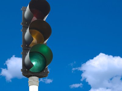 traffic signal skybackground