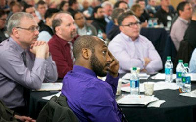 Audience at the 2019 New Jersey Work Zone Safety Conference