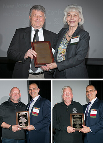 work zone safety award honorees