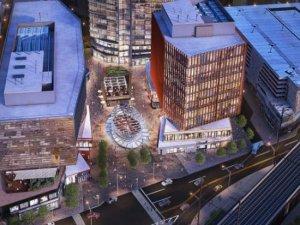 a rendering of the future New Brunswick Innovation Hub