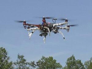 drone test flight