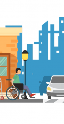 Video announcing the research on pedestrian infrastructure and autism.
