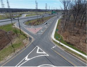 Photo of interchange.